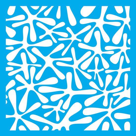 Stencil-Litocart-LSQ-076-20x20cm-Pintura-Simples-Splash-de-Tinta