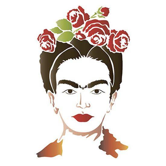 Stencil-Litoarte-STM-572-211X172cm-Pintura-Simples-Frida