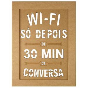 Quadro-Moldura-em-MDF-Retangular-345x255cm-Wi-Fi---Palacio-da-Arte
