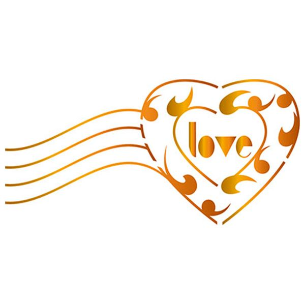 Stencil-Litoarte-ST-X184-10x10cm-Pintura-Simples-Coracao-Love