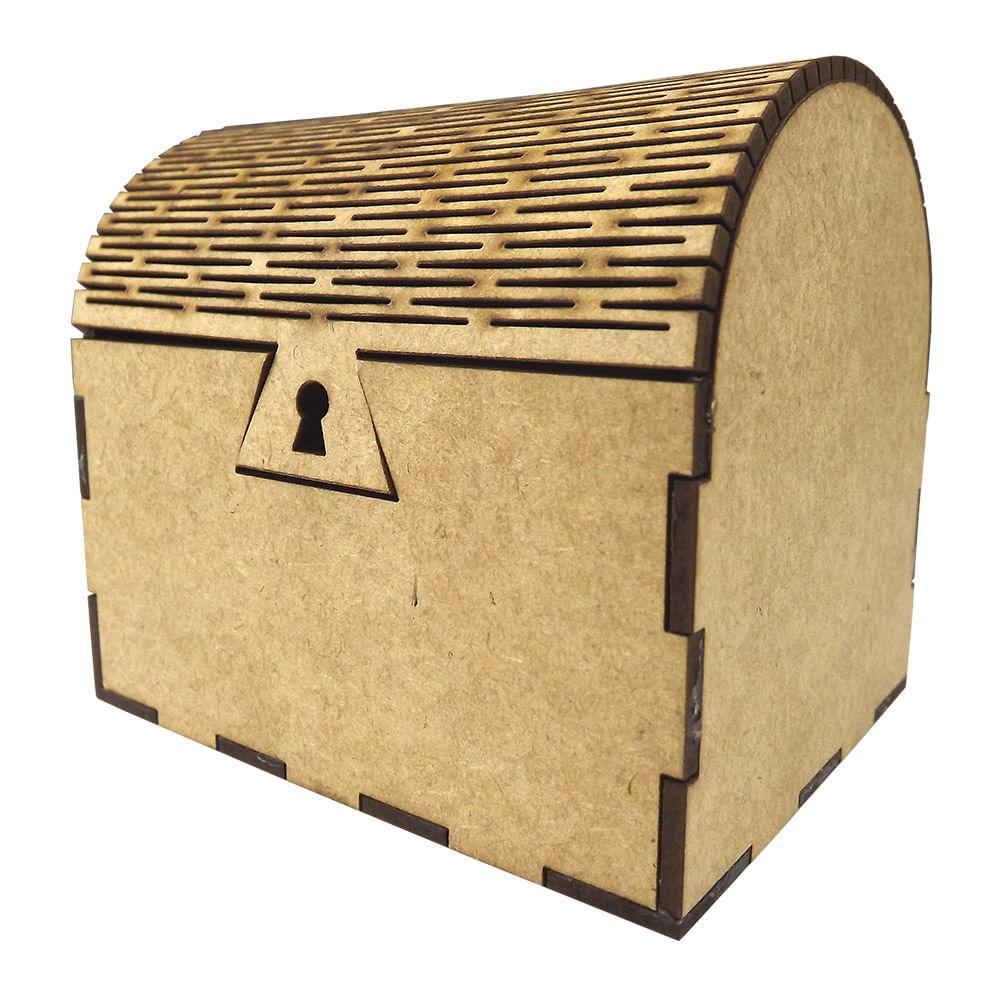 b7e14e4c94 Caixa Baú Porta Objetos em MDF de Encaixe 10x8x9cm - Palácio da Arte -  PalacioDaArte