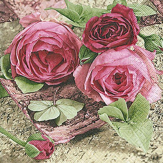 Guardanapo-Decoupage-Toke-e-Crie-GUA200383-2-unidades-Rosas-Pink