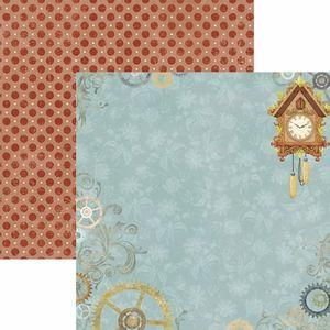 Papel-Scrapbook-Toke-e-Crie-SDF787-Dupla-Face-305x305cm-Relogios-Antigos-Cenario
