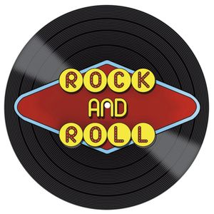 Placa-Decorativa-Litocart-LPDVP-006-20x20cm-Disco-Vinil-Rock-And-Roll