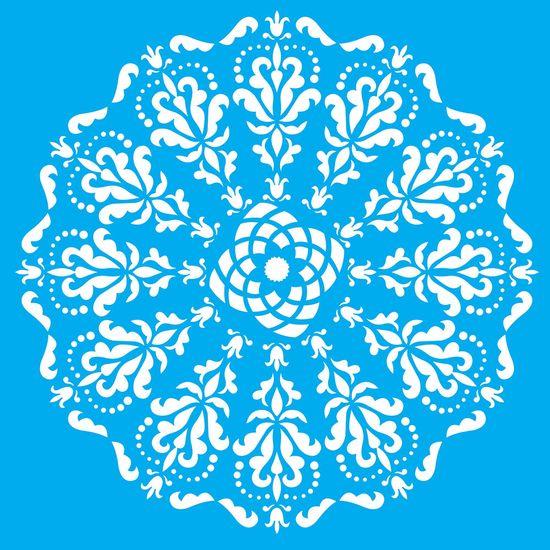 Stencil-Litocart-LSQ-072-20x20cm-Pintura-Simples-Mandala-Medieval