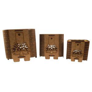 Trio-de-Cachepot-Porta-Objetos-em-MDF-de-Encaixe-Arvore---Palacio-da-Arte