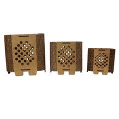 Trio-de-Cachepot-Porta-Objetos-em-MDF-de-Encaixe-Poa---Palacio-da-Arte