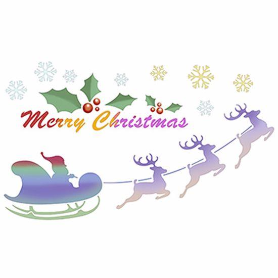 Stencil-Litoarte-Natal-STNGG-022-21x344cm-Pintura-Simples-Treno-e-Renas-Merry-Christmas-by-Mara-Fernandes