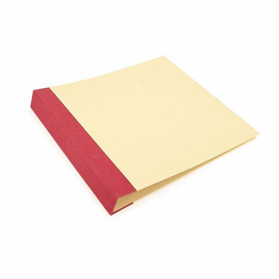 Album-p--Scrapbook-Toke-e-Crie-AS038-37x385x5cm-Vermelho-e-Kraft