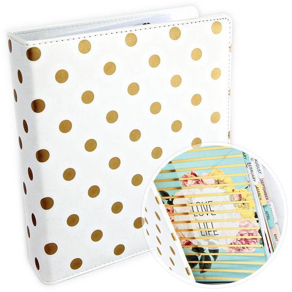 Agenda-Organizadora-American-Crafts-WER044-225x205cm-Capa-de-Couro-Poa-Dourado