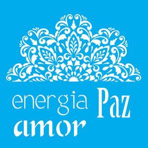 Stencil-Litocart-LSQ-098-20x20cm-Pintura-Simples-Energia-Paz-e-Amor