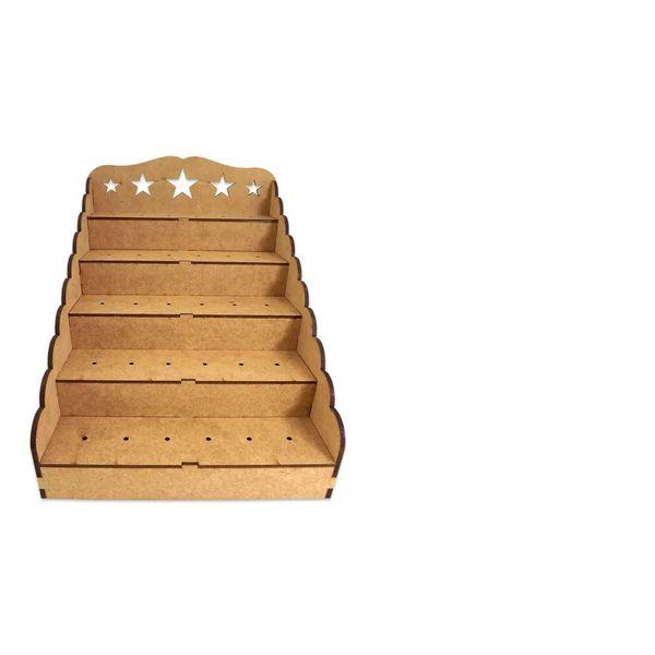 Piruliteiro-Escada-Estrela-para-30-Pirulitos---Palacio-da-Arte