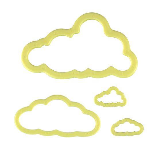 Jogo-Cortadores-Blue-Star-Nuvens-com-4-pecas