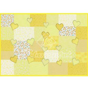 Papel-Decoupage-Litocart-LD-109-34x48cm-Coracao-Amarelo