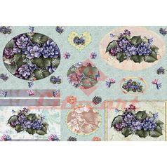 Papel-Decoupage-Litocart-LD-831-34x48cm-Flores