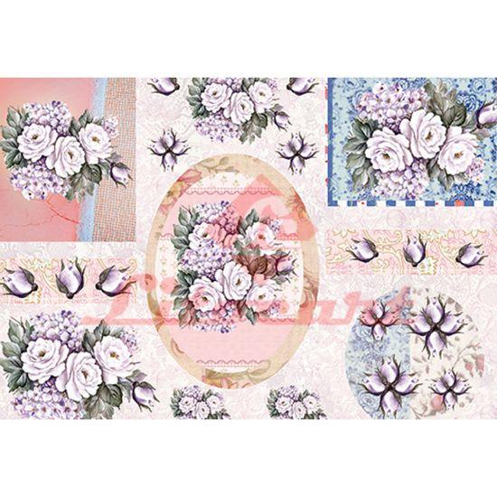 Papel-Decoupage-Litocart-LD-837-34x48cm-Flores