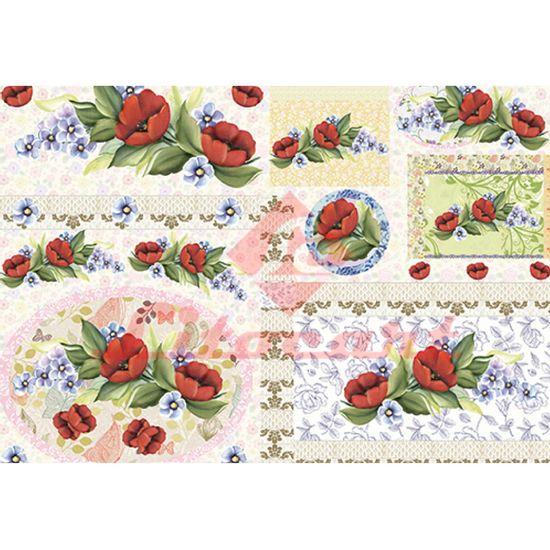 Papel-Decoupage-Litocart-LD-838-34x48cm-Flores-Vermelhas