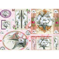 Papel-Decoupage-Litocart-LD-840-34x48cm-Flores