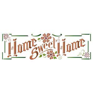 Stencil-Epoca-Litoarte-Natal-STE-328-285x85cm-Pintura-Simples-Home-Sweet-Home