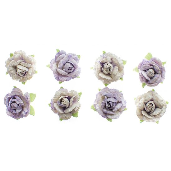 Flores-Artesanais-Rosas-Toke-e-Crie-FLOR165-Lilas-Colecao-Classica-com-Glitter
