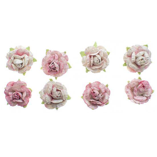 Flores-Artesanais-Rosas-Toke-e-Crie-FLOR164-Rose-Colecao-Classica-com-Glitter