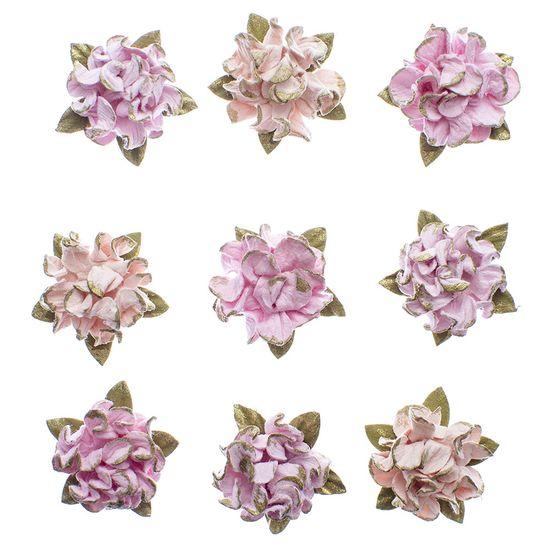 Flores-Artesanais-Hortensia-Toke-e-Crie-FLOR171-Rosa-Colecao-Delicada