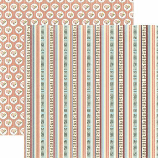 Papel-Scrapbook-Toke-e-Crie-SDF807-Dupla-Face-305x305cm-Floral-Listrado