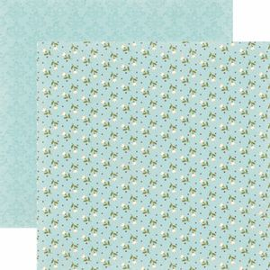 Papel-Scrapbook-Toke-e-Crie-SDF809-Dupla-Face-305x305cm-Floral-Tulipas