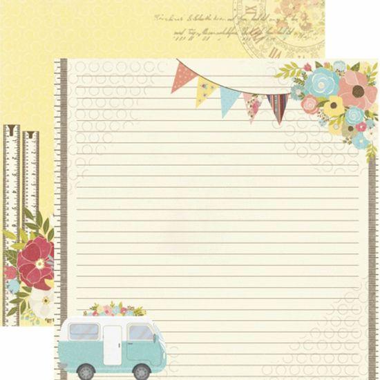Papel-Scrapbook-Toke-e-Crie-SDF815-Dupla-Face-305x305cm-Minha-Familia-Passeio