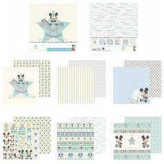 Kit-Papel-Scrapbook-Toke-e-Crie-SDFD132-Dupla-Face-305x305cm-com-12-Folhas-Sortidas-Disney-Baby-Mickey