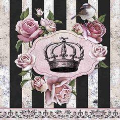 Papel-Decoupage-Adesiva-Litoarte-DA20-021-20x20cm-Coroa-com-Rosas