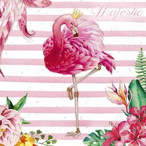 Papel-Decoupage-Adesiva-Litoarte-DA20-098-20x20cm-Flamingo