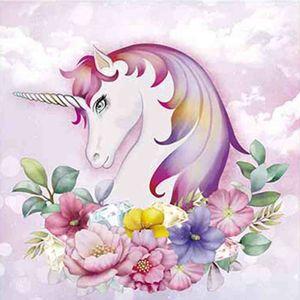Papel-Decoupage-Arte-Francesa-Litoarte-AFQ-387-21x21cm-Unicornio-com-Flores