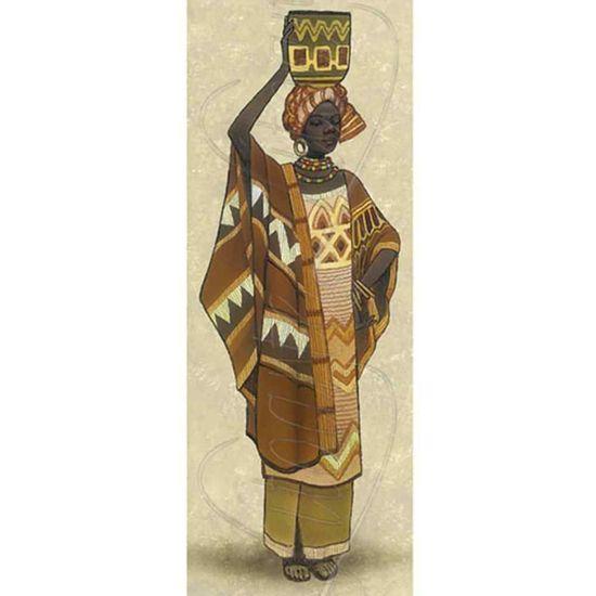 Papel-Decoupage-Arte-Francesa-Litoarte-AFP-051-25x10cm-Africana-Vaso-na-Cabeca
