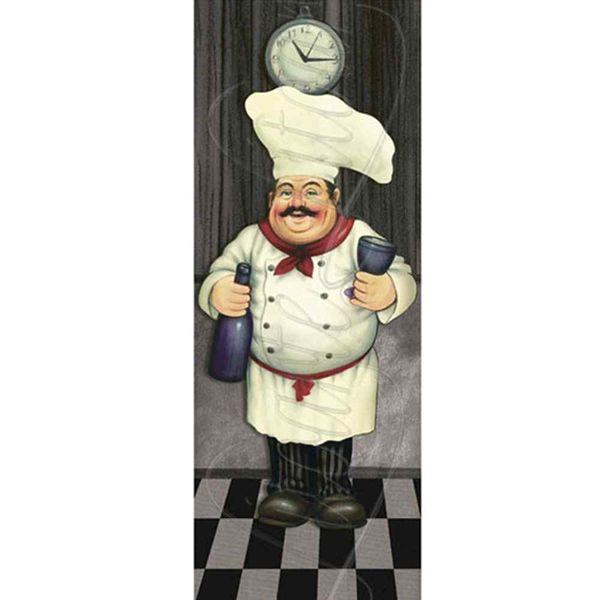 Papel-Decoupage-Arte-Francesa-Litoarte-AFP-055-25x10cm-Cozinheiro-com-Champagne