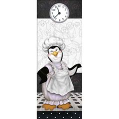 Papel-Decoupage-Arte-Francesa-Litoarte-AFP-099-25x10cm-Pinguim-Cozinheira