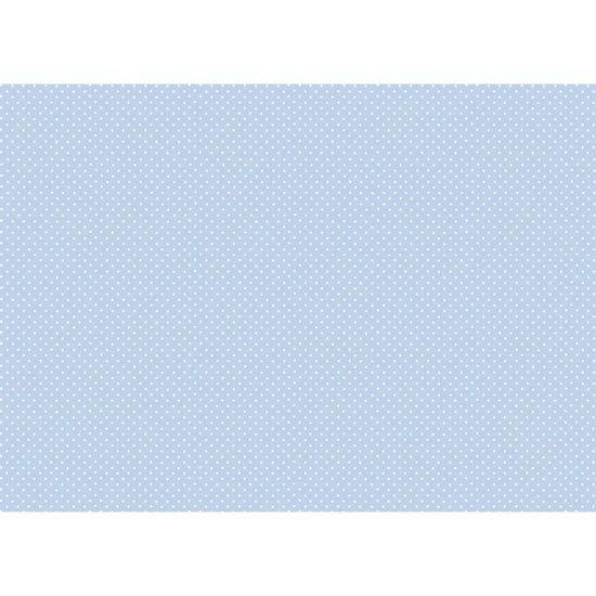 Papel-Decoupage-Litocart-LD-880-34x48cm-Poa-Branco-Fundo-Azul-Claro