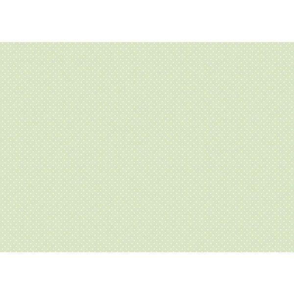 Papel-Decoupage-Litocart-LD-876-34x48cm-Poa-Branco-Fundo-Verde