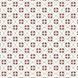 Papel-Scrapbook-Litocart-LSC-339-Simples-305x305cm-Boias-Salva-Vidas-com-Fundo-Branco