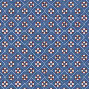 Papel-Scrapbook-Litocart-LSC-337-Simples-305x305cm-Boias-Salva-Vidas-com-Fundo-Azul
