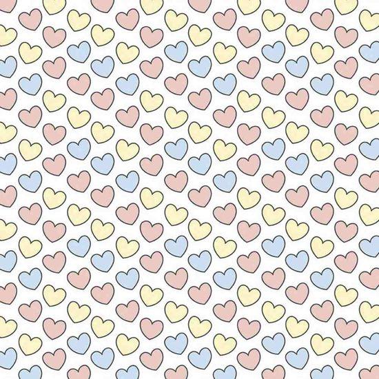 Papel-Scrapbook-Litocart-LSC-333-Simples-305x305cm-Coracoes-Rosas-Azuis-e-Amarelos