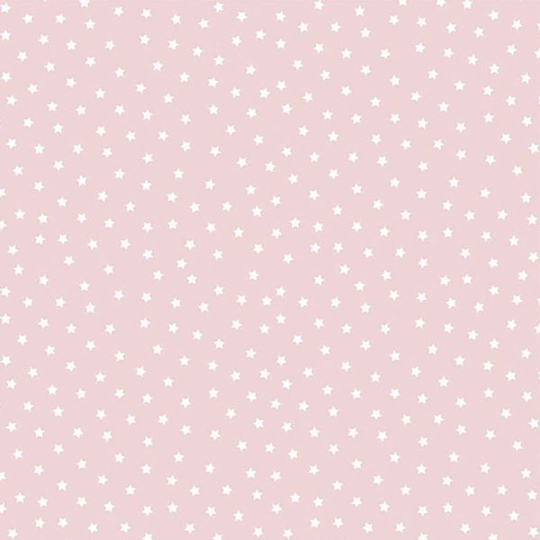Papel-Scrapbook-Litocart-LSC-330-Simples-305x305cm-Estrelas-Brancas-com-Fundo-Rosa