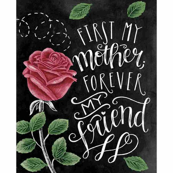 Placa-Decorativa-Litocart-LPMC-117-245x195cm-First-my-Mother-Forever-My-Friend