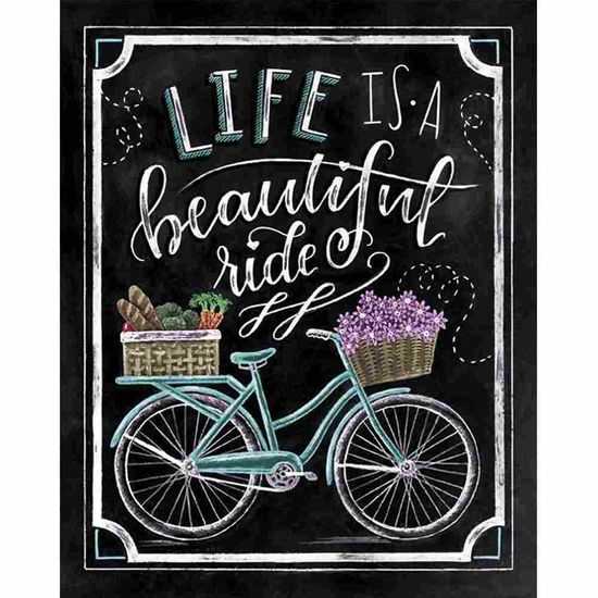 Placa-Decorativa-Litocart-LPMC-118-245x195cm-Life-is-a-Beautiful-Ride