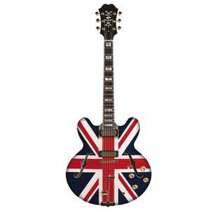 Aplique-Decoupage-Litocart-LMAPC-434-em-Papel-e-MDF-10cm-Guitarra-Inglaterra