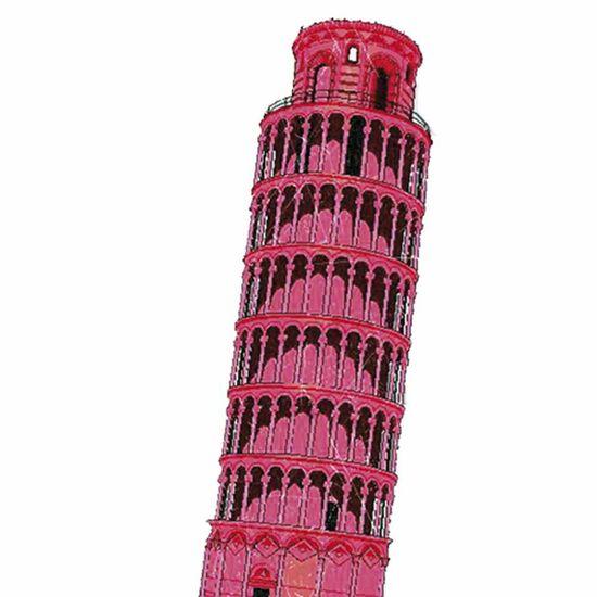 Aplique-Decoupage-Litocart-LMAPC-429-em-Papel-e-MDF-10cm-Torre-de-Pisa