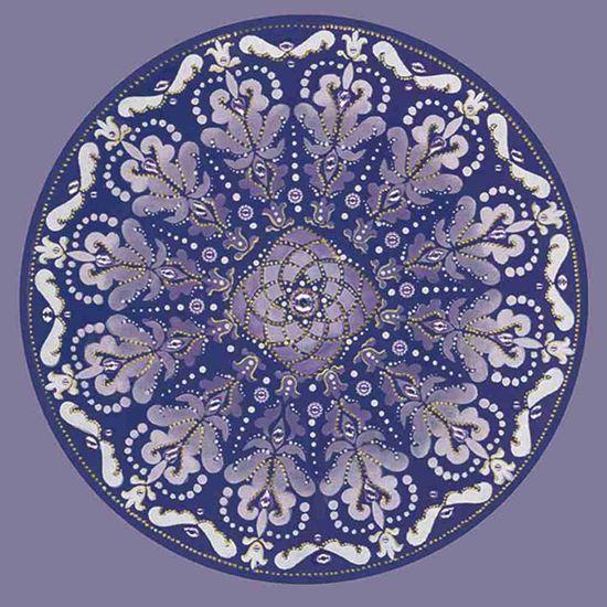 Adesivo-Decoupage-Redondo-Litocart-LAR-015-205x205cm-Mandala-Medieval