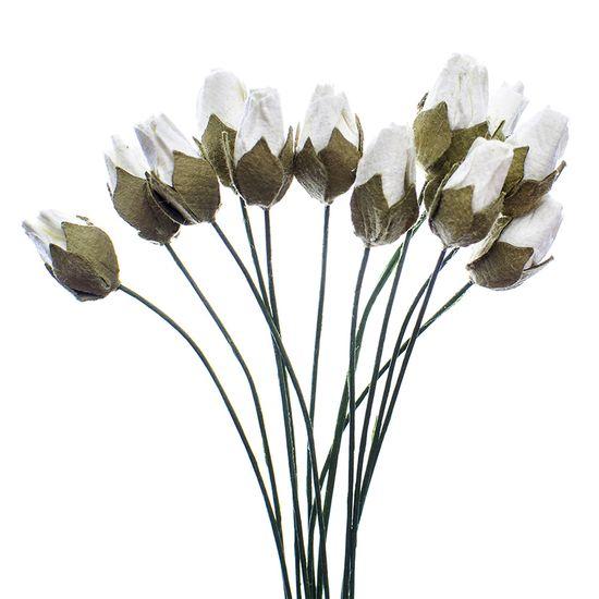 Flores-Artesanais-Botoes-Toke-e-Crie-FLOR174-Branco-Colecao-Delicada