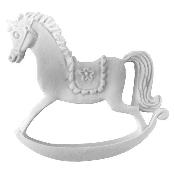 Aplique-Cavalo-de-Balanco-Flor-75x65cm---Resina