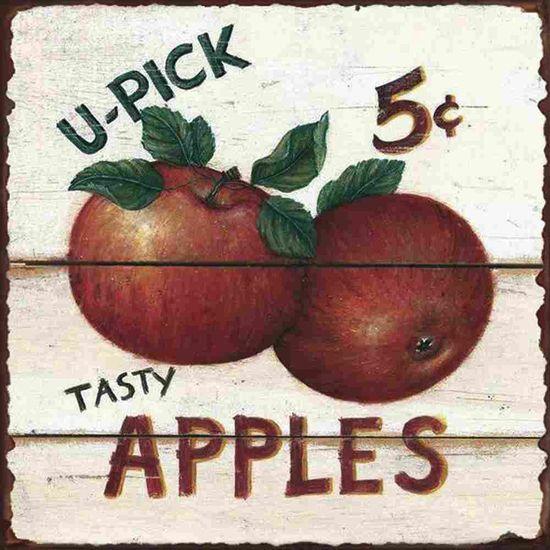 Placa-Decorativa-Litocart-LPQC-050-25x25cm-Apples